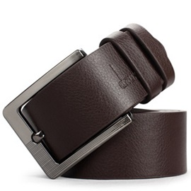 High Quality Alloy Pin Buckle Casual PU Belt