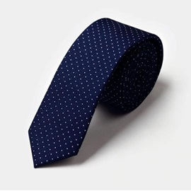 Dots Decorated Men's Necktie