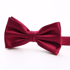 Solid Color Bow Tie for Men