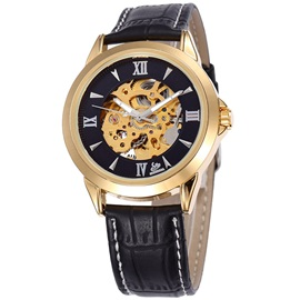 High Quality Hollow Men Mechanical Watch
