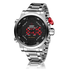 Double Movement Three Pointers Men's Watch