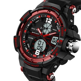 Analog-Digital Waterproof Men's Sports Watch