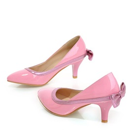 Sweet Style Back Bowknot Pumps