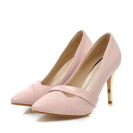 Cut Out Pointed Toe Classic Pumps