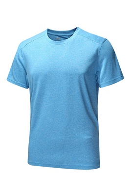 Polyester Quick-Drying Men's Outdoor T-Shirt