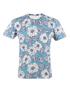 Polyester Fast-Drying Men's Outdoor T-Shirt