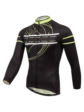 Athletic Fit Long-Sleeve Men's Cycle Jersey