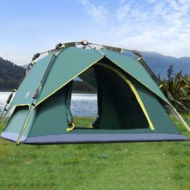 Double Layer 3-4 Person Pop-Up Tent