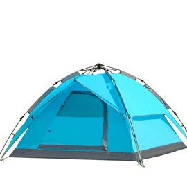 3-4 Person One-Room Pop Up Family Tent