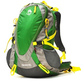 High Quality Patchwork Hiking Daypack