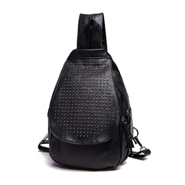 Exquisite Melanin Color Dual Purpose Chest Pack / Backpack