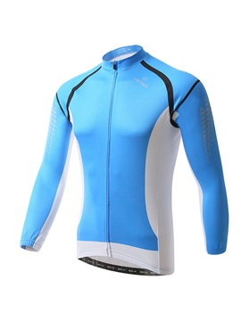 Polyester Blue Spring Men's Cycle Jersey