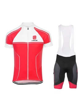 Polyester Center-Front Zipper Cycle Outfit