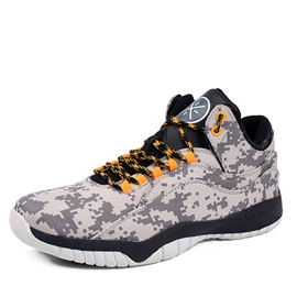 Wear Resistant Lace-Up Basketball Shoes