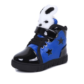 Chic Rabbit Shaped Five-Pointed Star Kid's Sneakers