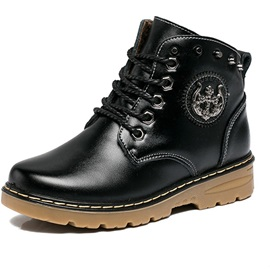 Lace-Up Front Lined Little Kid's Boy's Boots