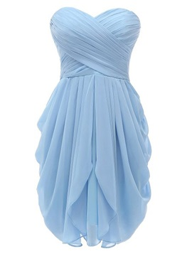 High Quality Sweetheart Short Bridesmaid Dress