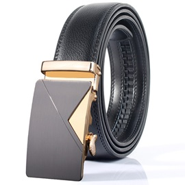 Hot Sale Automatic Buckle Design Leather Men's Belt