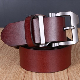 Classic Jean Single Pin Buckle Men's Belt
