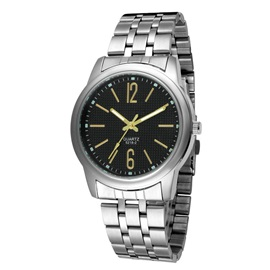 Simple Style Men's Quartz Chain Watch