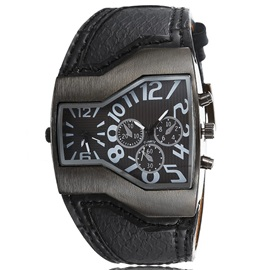 Unique Dial Men's Belt Watch