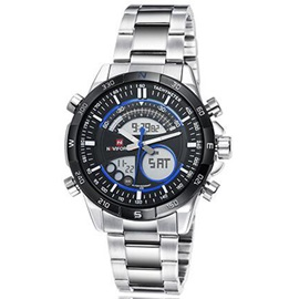 Water Resistant Alloy Band Men Watch