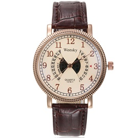 Fashion Hollow Out Pin Buckle Men's Watch