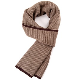 New Style Knitting Wool Warm Men's Scarf