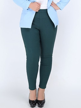 Plus Size Stretchy Curvy-Fit Leggings