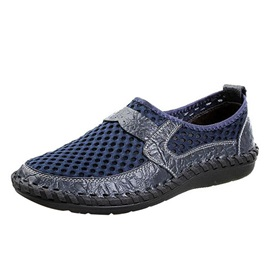 Air-Permeable Mesh Patchwork Men's Shoes