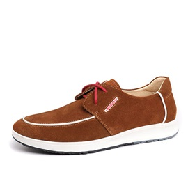 Suede Lace-Up Men's Shoes