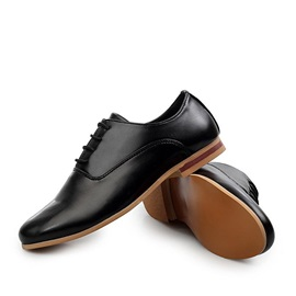 Pointed Toe Lace-Up Men's Shoes