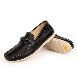 European PU Square Toe Men's Shoes