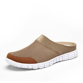 Breathable Round Toe Slip-On Beach Sandals