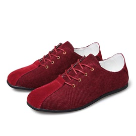 Solid Color Round Toe Canvas Shoes