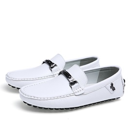 Elegant PU Slip-On Loafers