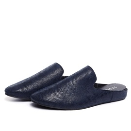 Embossed PU Slip-On Casual Shoes