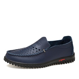 PU Hollow Slip-On Men's Casual Shoes