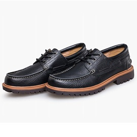 PU Low-Cut Upper Lace-Up Casual