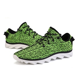 Breathable Mesh Lace-Up Fashion Shoes