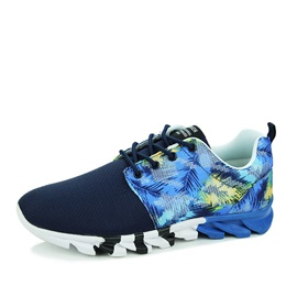 Printed Breathable Lace-Up Sneakers