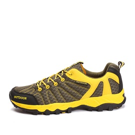 Breathable Mesh Thread Hiking Shoes
