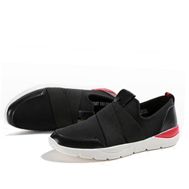 Contrast Color Slip-On Sport Shoes