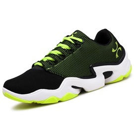Mesh Color Block Lace-Up Men's Cool Sneakers