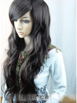 Hot Sale Beautiful Natural Long Wavy Hair Wig about 24 Inches