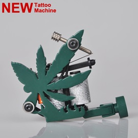 High Quality Maple Leaf Frame Cast Iron Tattoo Machine for Liner and Shader