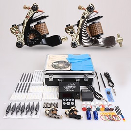 5 Pcs Tattoo Machine Gun Bags Supply Tatto Kit