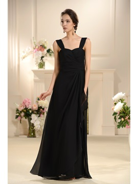 Enchanting Flower A-Line One-Shoulder Floor-length Bridesmaid Dress