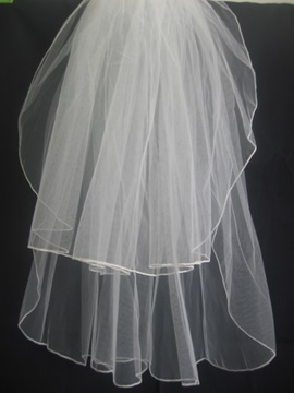 Cute Tidebuy Children Veil with Finished Edege