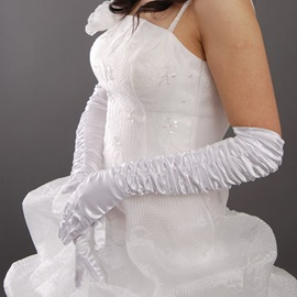 Long Fingers Lace Wedding Bridal Glove